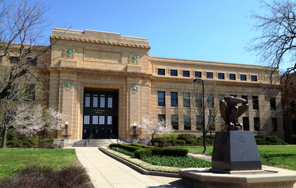 Strong Hall at the University of Kansas (Image credit: The University of Kansas)