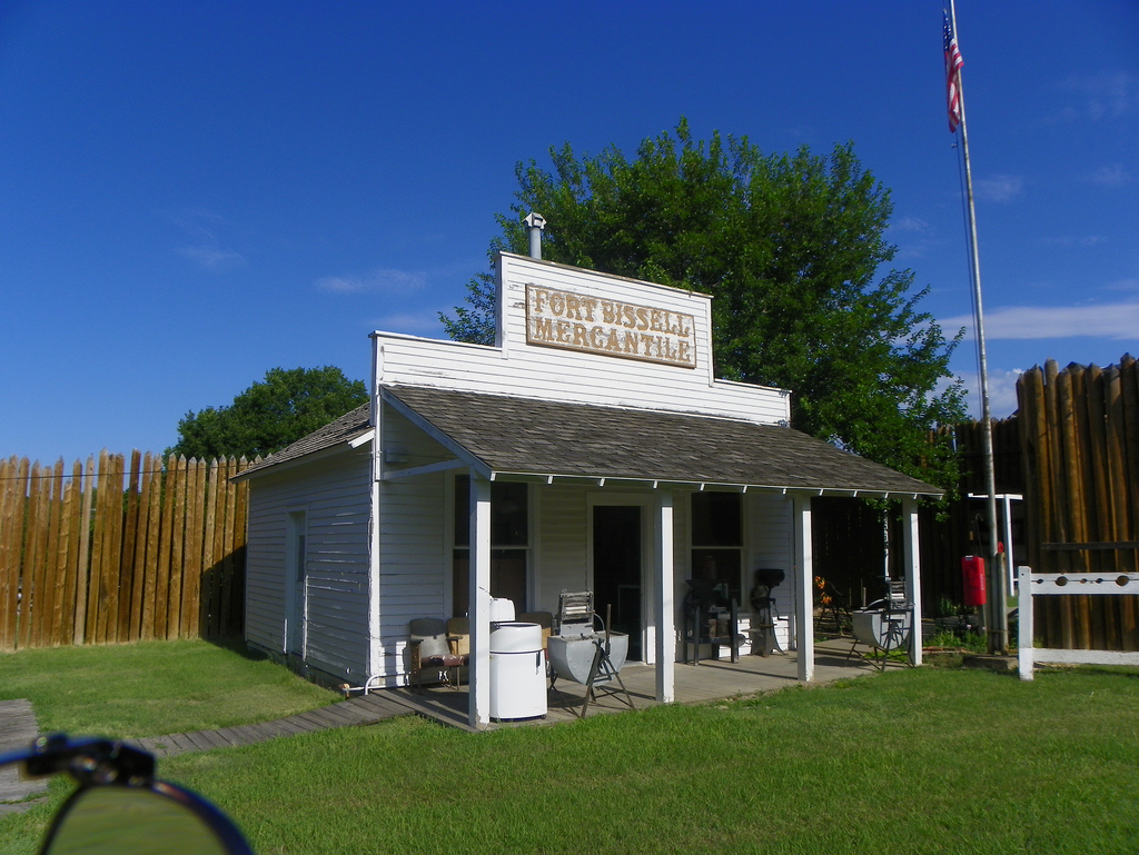 Old Fort Bissell Museum, Phillipsburg, Phillips County, Kansas (Flickr/J. Stephen Conn)