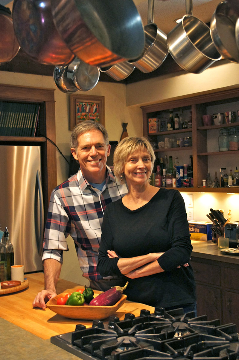 Husband and wife Frank and Jayni Carey have authored two other cookbooks: The Kansas Cookbook: Recipes from the Heartland and The Easier You Make It, The Better It Tastes.