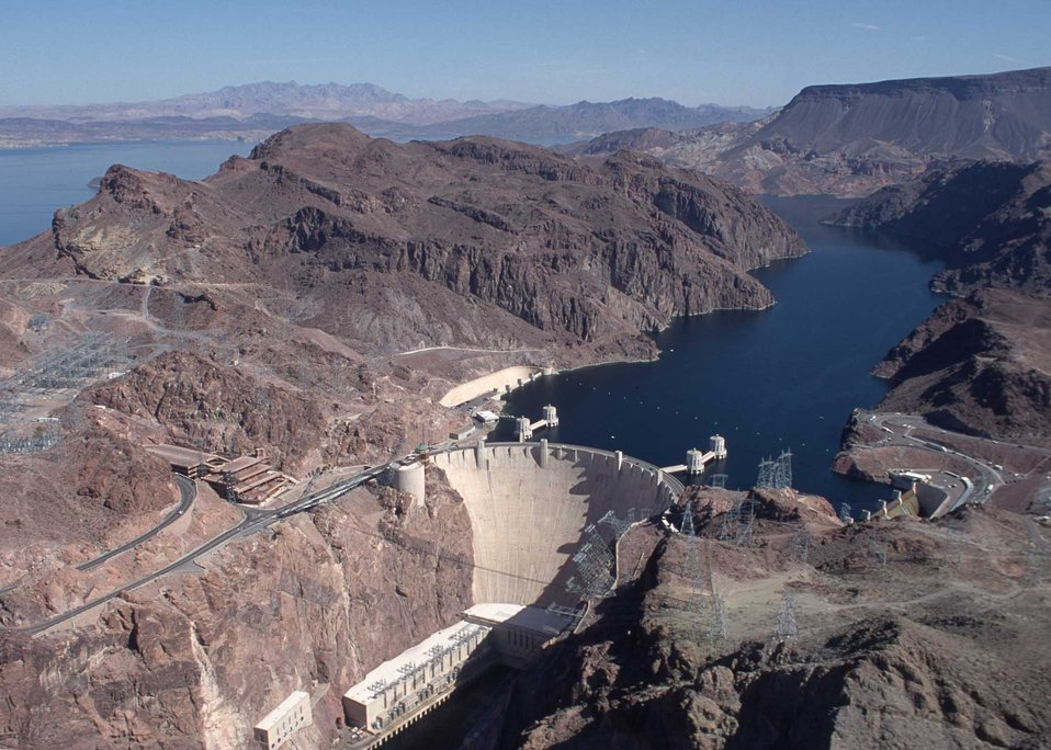 Another view of Hoover Dam