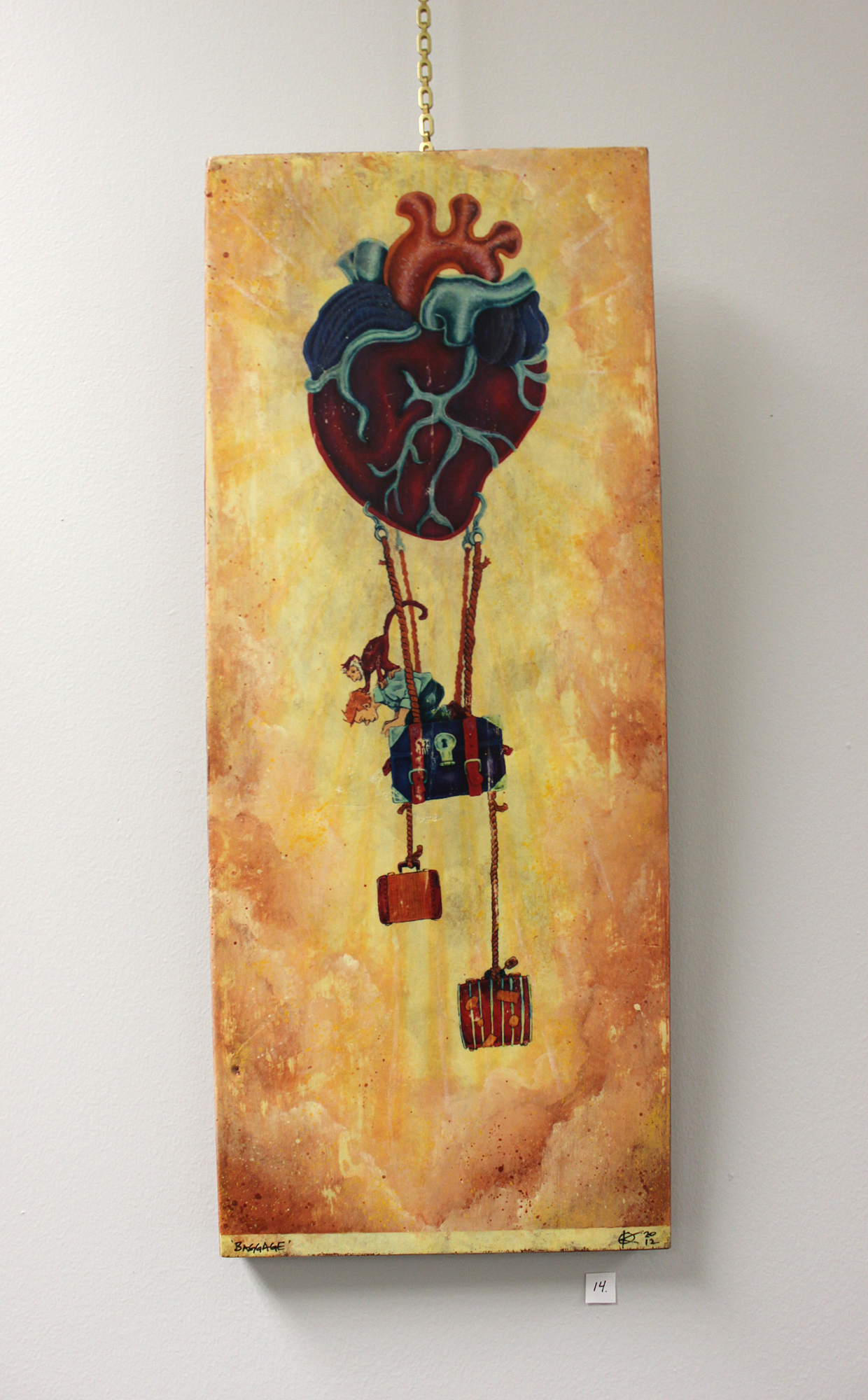 Baggage, Mixed Media, 2012 - Kent Smith, $200
