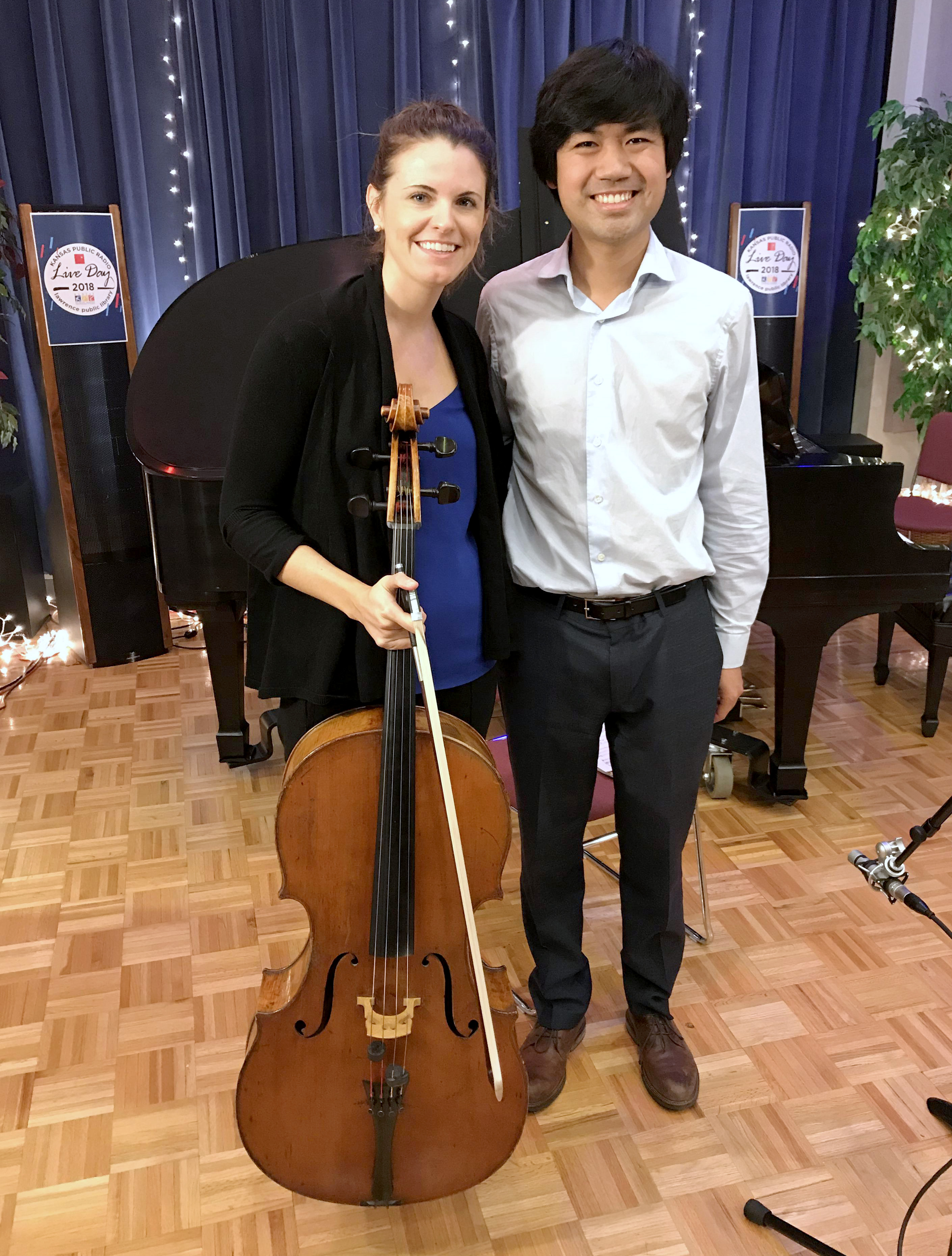KC Symphony cellist Meredith McCook and pianist Sean Chen teamed up for a program of German classical music.