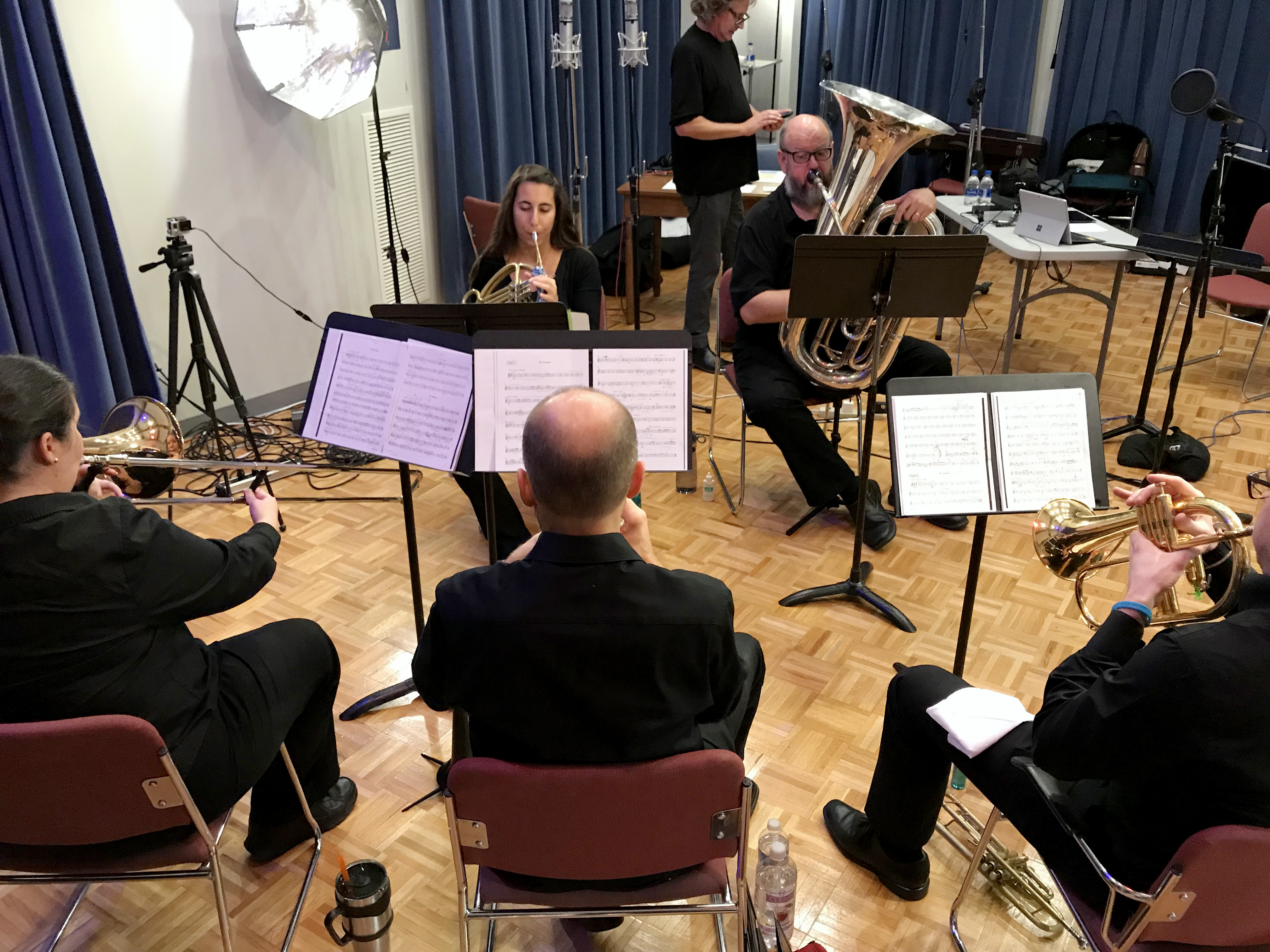 The Washburn University Brass Quintet performs a selection of music for the autumn season.