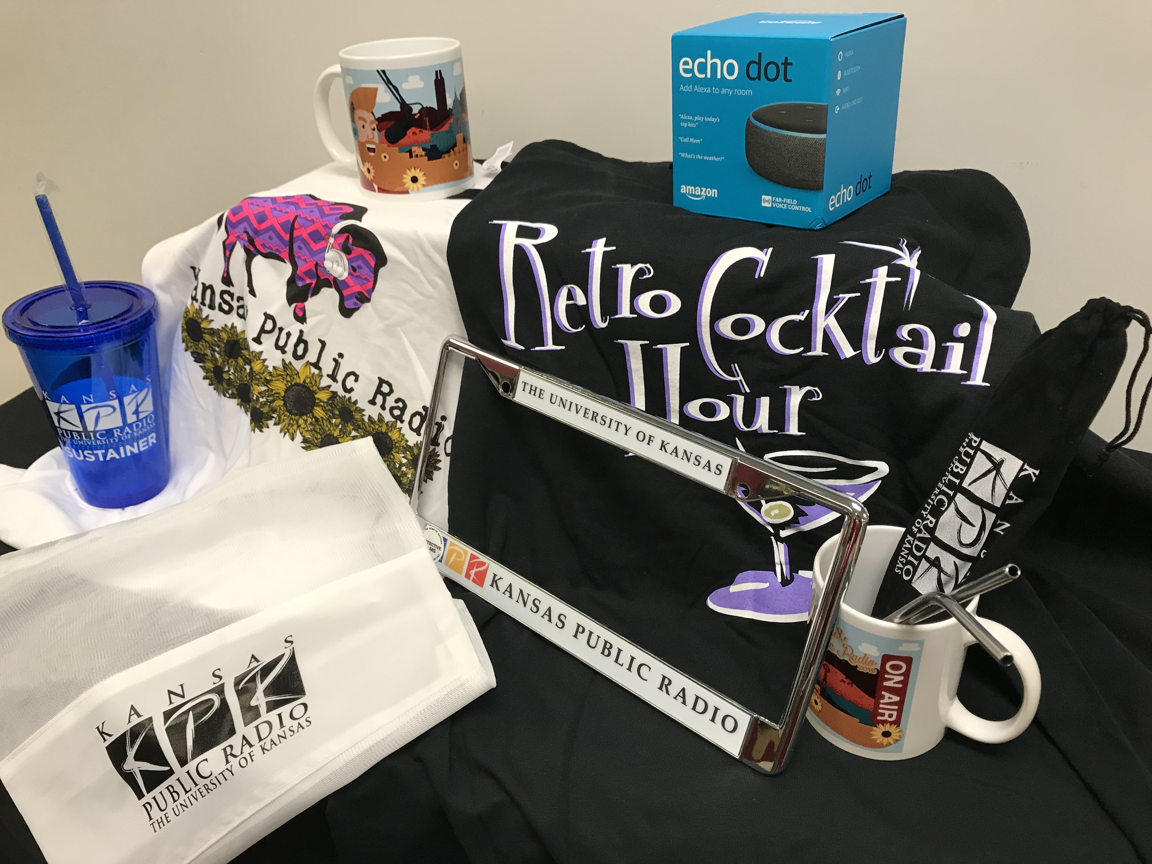 KPR's swag bag includes all these items PLUS a pair of tickets to the 2019 Big Band Christmas.