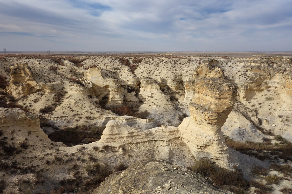 """Little Jerusalem"" (Photo Courtesy of The Nature Conservancy in Kansas / Meleda Lowry)"