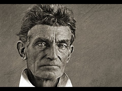 Photograph of abolitionist John Brown, without his iconic beard