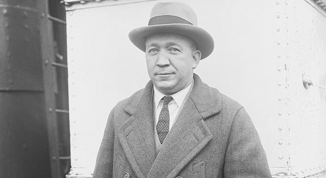 Norwegian immigrant Knute Rockne became a football player and legendary coach at Notre Dame.  He died in a Kansas plane crash on March 31, 1931. (Library of Congress online collection)