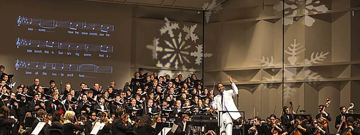 Listen to Holiday Vespers, the annual KU concert on December 21 and 22.