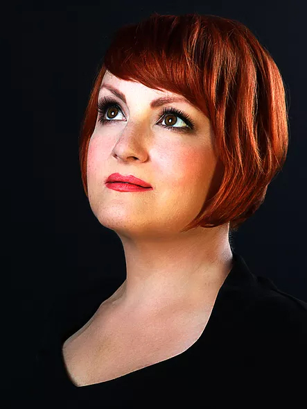 Molly Hammer, the special guest vocalist for Big Band Christmas.