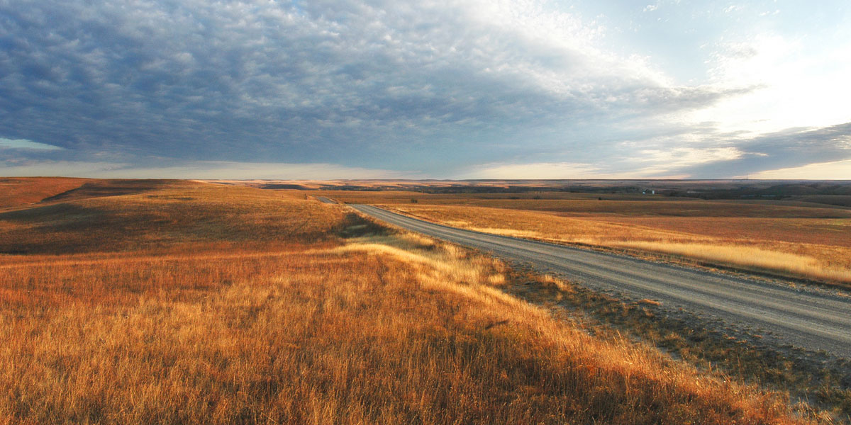 Beautiful Chase County, Kansas (Photo from the Chase County Chamber of Commerce)