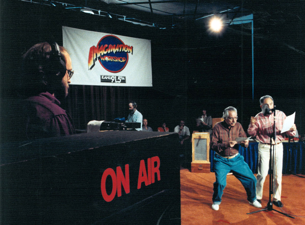"""The """"Imagination Workshop"""" won a $123,645 program production grant from CPB in January 1992. More than 150 stations signed up to carry the series of comedy programs."""