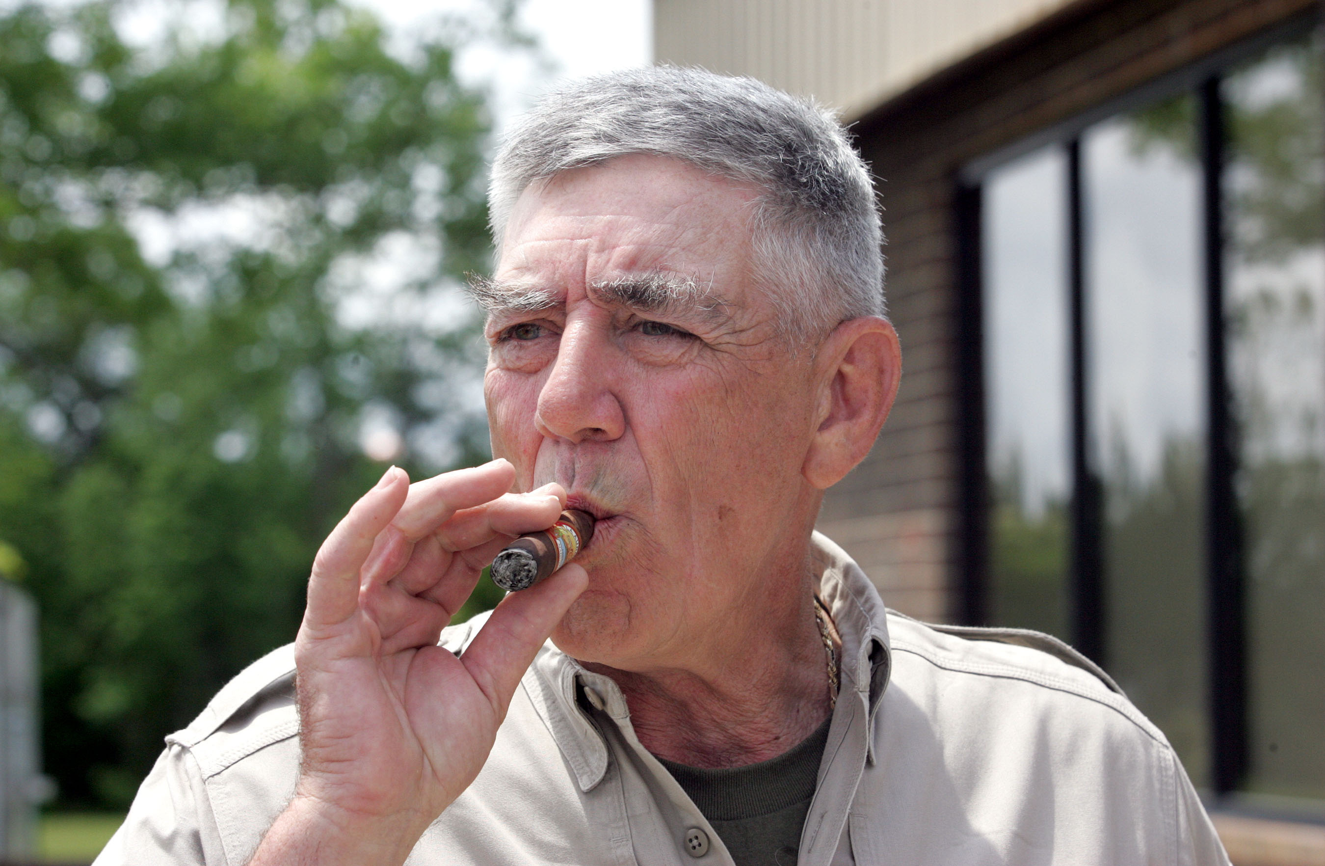 Emporia native R. Lee Ermey was a Marine, a Vietname veteran and a Hollywood actor.  He also hosted the TV program Mail Call on The History Channel.