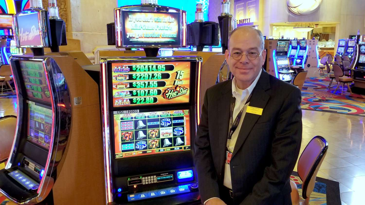 Rick Skinner, the general manager of the Hollywood Casino in Kansas City, Kansas, is ready to take on a sports book operation. (Photo by Stephen Koranda)