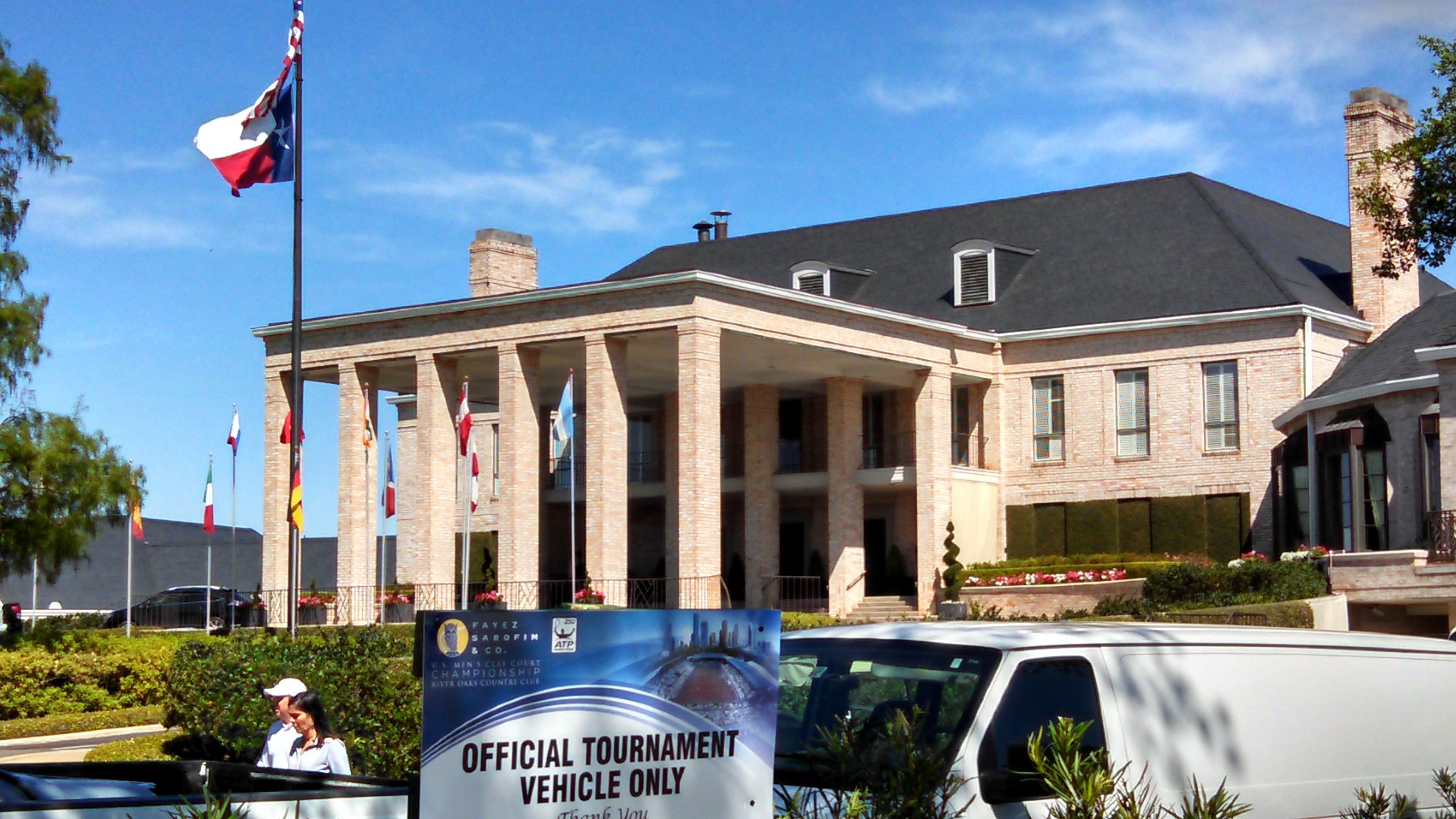 River Oaks Country Club in Houston, where Jack Sock is defending his title. (Photo by Greg Echlin)