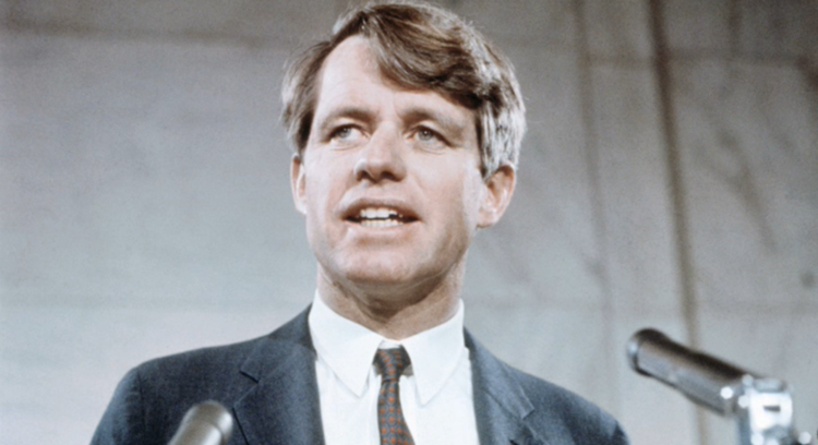 Robert F. Kennedy (Photo from Kansas Historical Society)