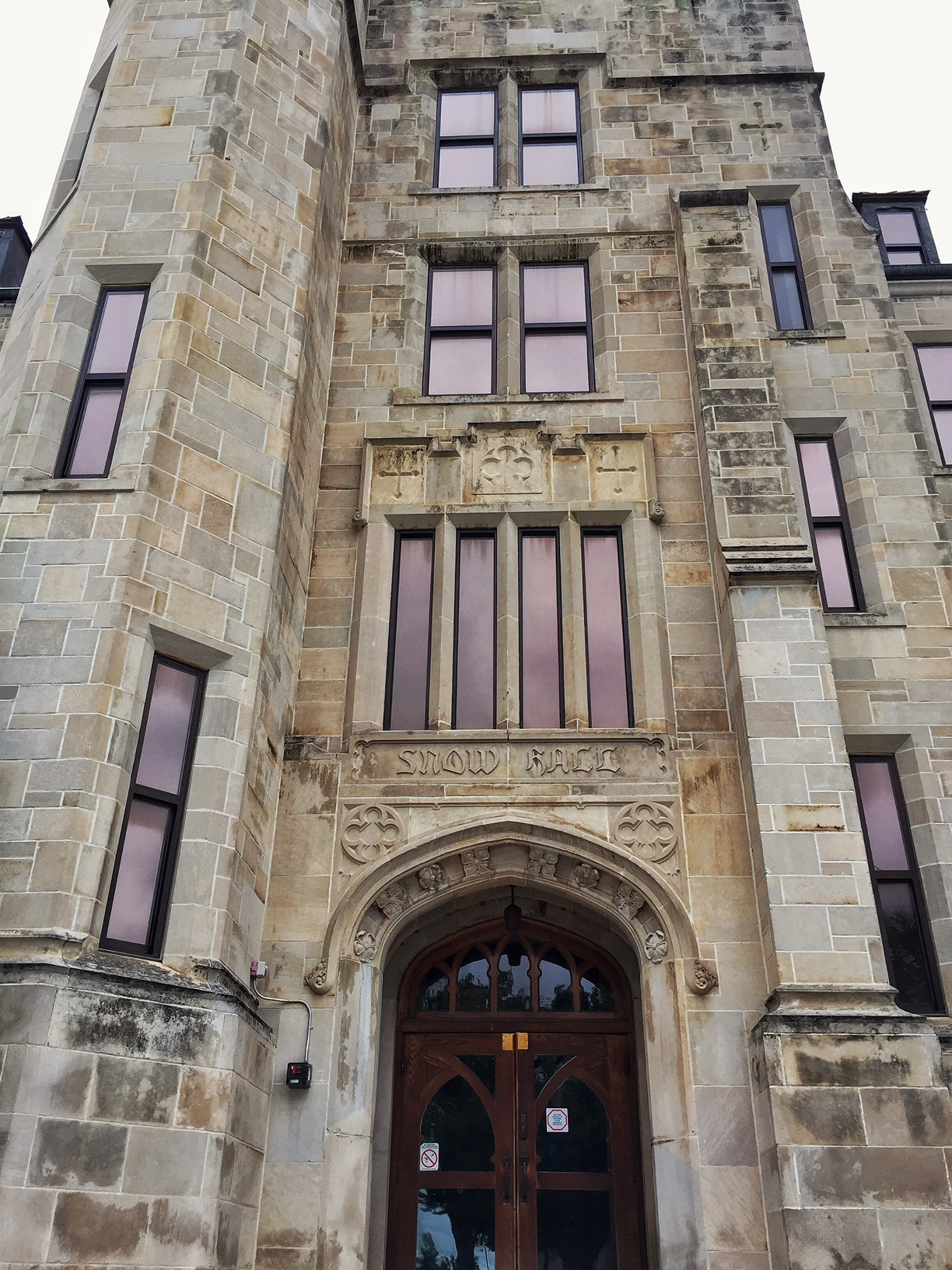 Named after former KU Chancellor Francis Snow, Snow Hall is an impressive example of modified Collegiate Gothic style architecture.  (Photo by J. Schafer)
