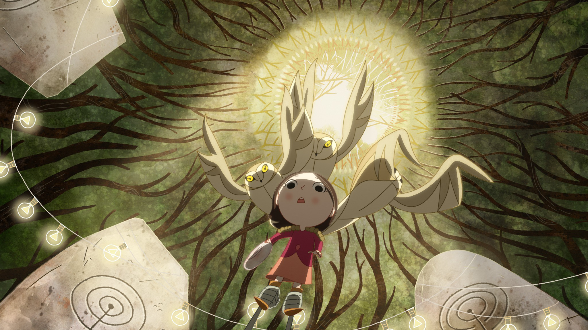 "A still from the animated film ""Song of the Sea,"" showing Friday night, April 24, 2015 as part of the See/Saw film festival (Image credit: Cartoon Saloon and StudioCanal Distribution)"