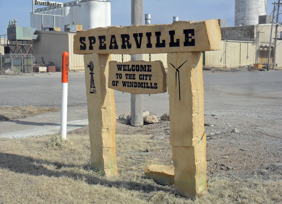Spearville is a city in Ford County, Kan., close to Dodge City. As of the 2010 census, the city population was 773. (Photo by Greg Echlin)