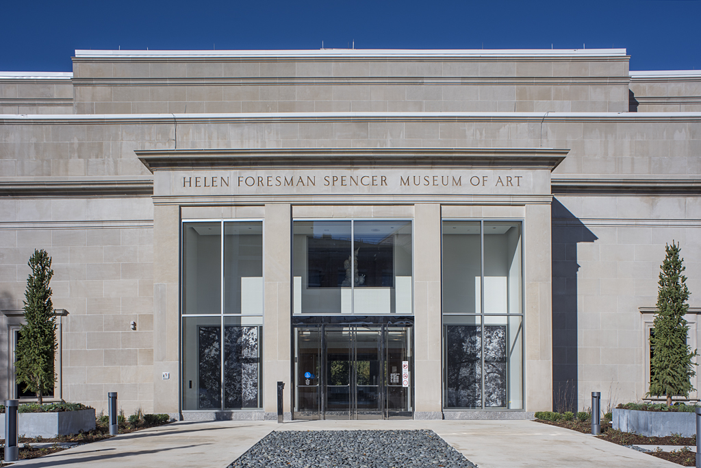 Spencer Museum of Art on the KU campus