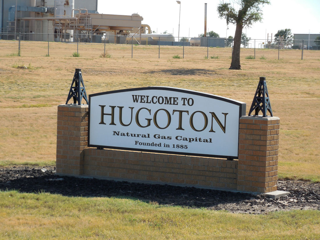 Welcome to Hugoton! (Flickr Photo by Jimmy Emerson, DVM)