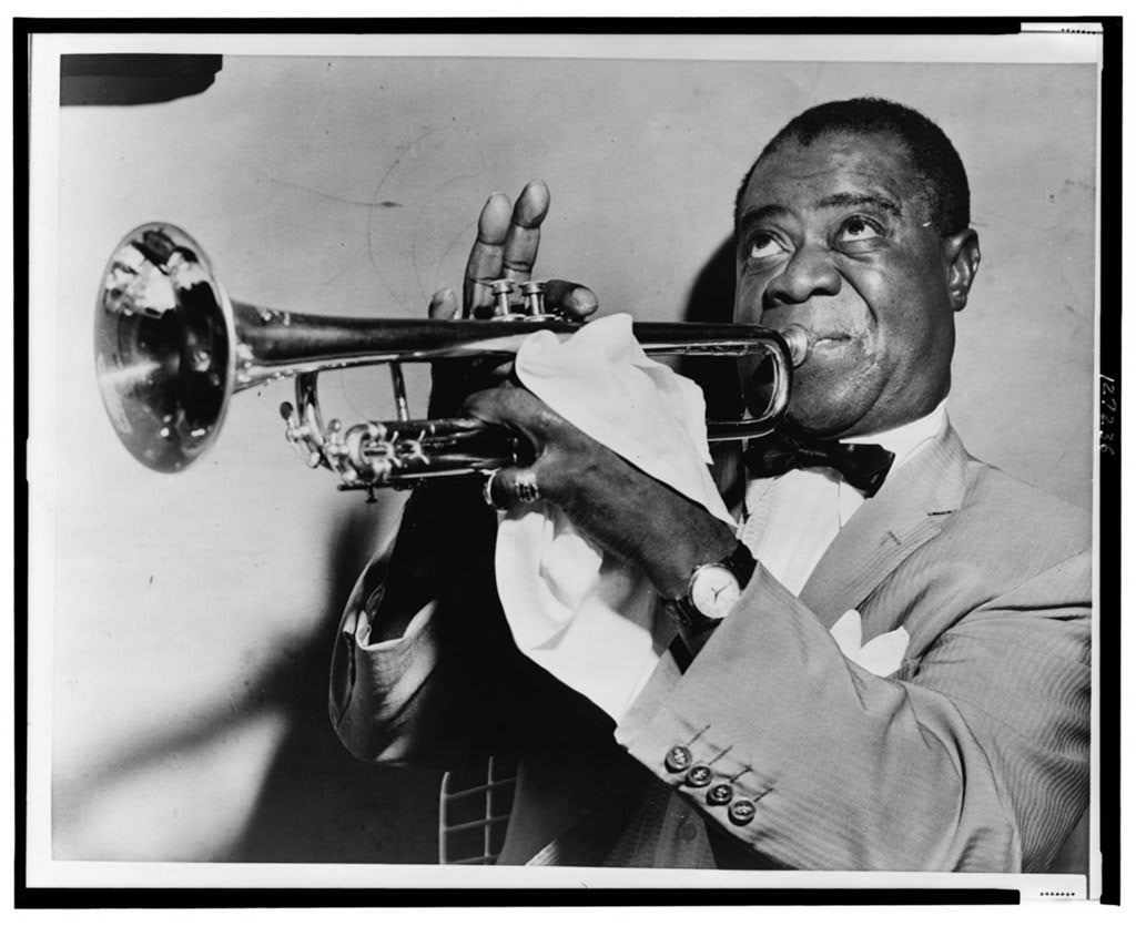 Louis Armstrong, 1953 (Photo via Library of Congress)