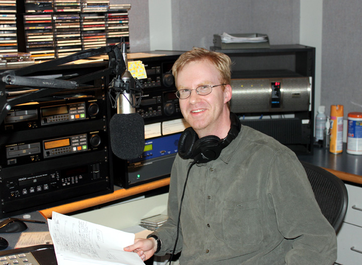 Michael Keelan hosts KPR's classical music in the morning.
