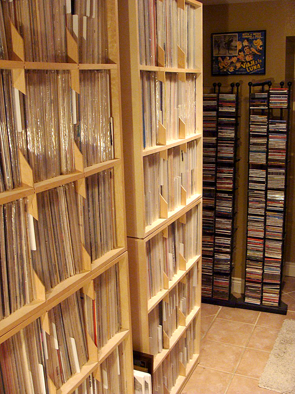 The playlist for the weekly show comes from Darrell's personal collection of 10,000 albums and CDs.