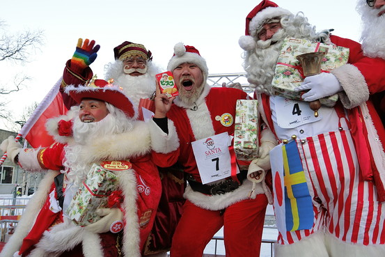 The Santa Winter Games are held in Gaellivare, Sweden, every year. (Photo Courtesy of wsj.com)