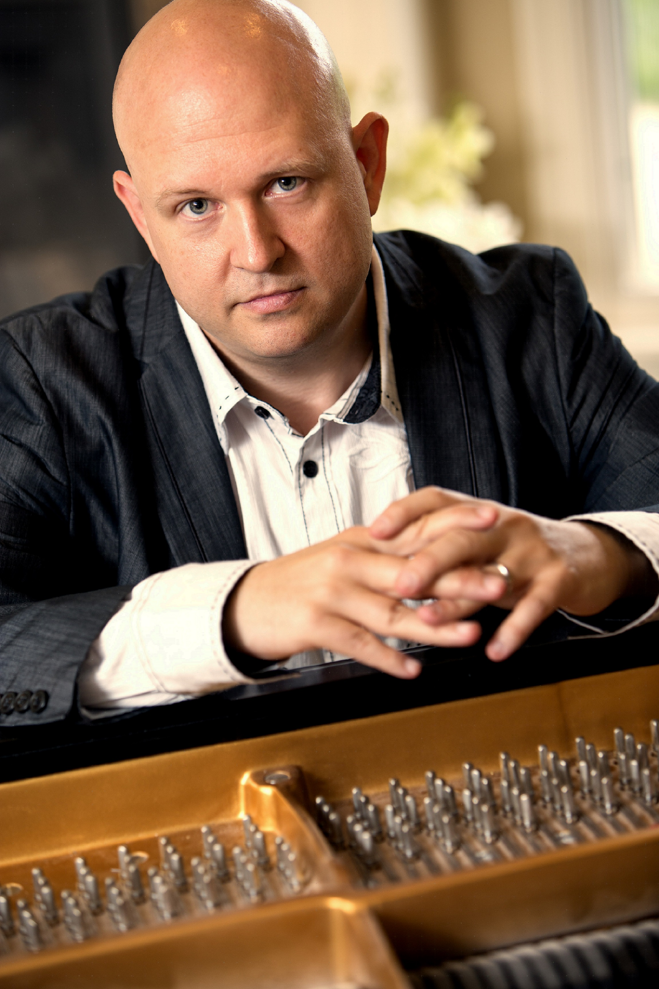 11 AM - 12 PM - Steven Spooner, piano, KU (studio)