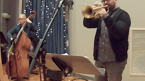 Clint Ashlock leads the KC Jazz Orchestra as well as his own quartet.