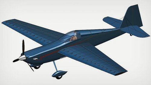"The ""Screamin' Dingo"" is the name of this proposed aerobatic, competition-grade aircraft, designed by KU engineering students. Their design took top honors in an international aircraft design competition."