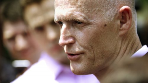 Governor Rick Scott (R-Fla.) spoke with reporters Wedenesday, in Washington, D.C., after a meeting with Sylvia Burwell, head of the U.S. Department of Health and Human Services.