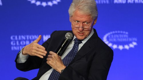 Former President Bill Clinton speaks earlier this month at a conference in Marrakesh, Morocco, sponsored by the Clinton Foundation.