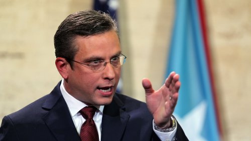 Alejandro Garcia Padilla, the governor of Puerto Rico, discussing the commonwealth's budget earlier in 2015.