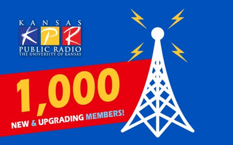 "We're looking for 1,000 new and upgrading donors during the ""Campaign for Excellence."" You can do your part today - donate online at kpr.ku.edu/support or call 888-577-5268...and thanks!"