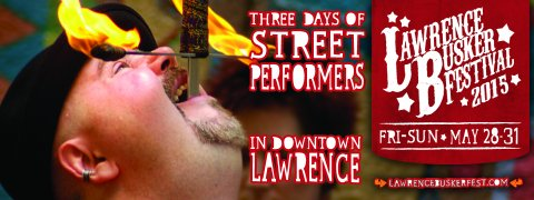 Lawrence Busker Festival May 29-31