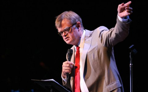 "Garrison Keillor will host ""A Prairie Home Companion"" one last time on Saturday, July 2."