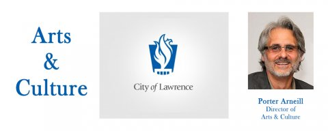 Porter Arneill, Director of Arts & Culture for the City of Lawrence