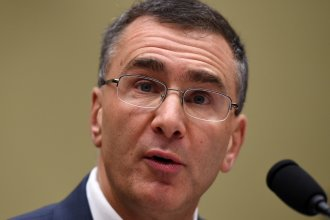 MIT economist Jonathan Gruber testifies Tuesday before the House Oversight Committee. He apologized for his comments on how the Affordable Care Act was created.