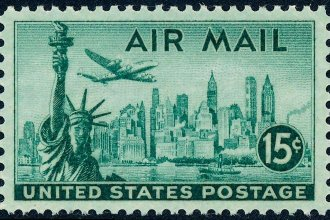 United States 15-cent Air Mail stamp