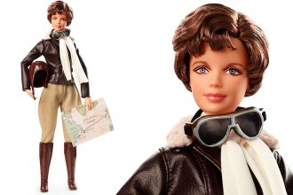 The Amelia Earhart Barbie