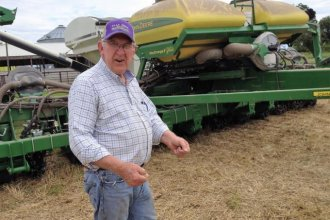 Kansas Farm Bureau President Rich Felts says Governor Brownback's signature income tax exemption didn't make a huge difference for most farmers in the state. (Photo: Bryan Thompson, Kansas News Service)
