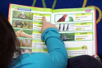 Reading Roadmap provides literacy programs at 30 school districts around Kansas. (Photo by Celia Llopis-Jepsen)