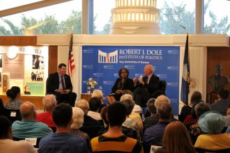 Constitution Day panel, photo credit Ann Dean