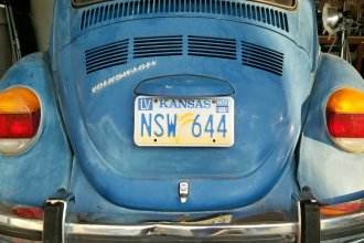 The bill would allow the plates for any vehicles older than 35 years. (Photo by Stephen Koranda)