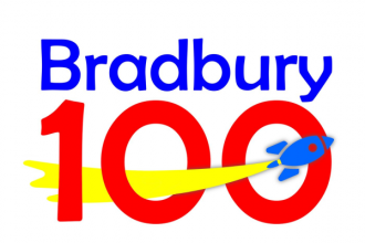 Bradbury 100 podcast image used with permission of Bradbury Media
