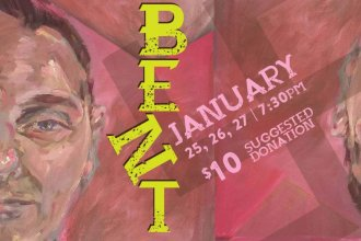 Bent will be presented at the Lawrence Arts Center January 25th through the 28th.