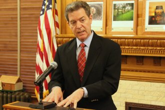 Governor Sam Brownback. (File photo by Stephen Koranda)