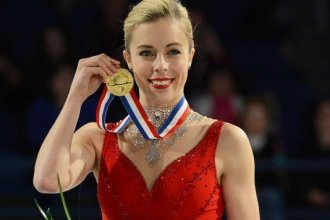 Ashley Wagner, shown here after winning the 2015 U.S. Women's Figure Skating Championship (photo credit: U.S. Figure Skating Media)