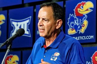 Kansas Jayhawks volleyball coach Ray Bechard. (Photo:KU Athletics)